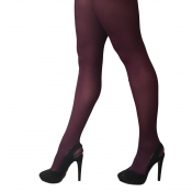 Simply Colour Ruby Red 40 Denier Opaque Tights