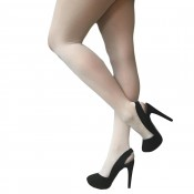 Simply Colour 40 Denier Opaque Tights Ivory