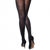 charnos lurex opaque backseam tights