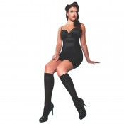 Plus size opaque knee high socks for sizes 16 up to 26
