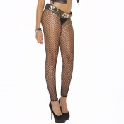 elegant moments fence net leggings