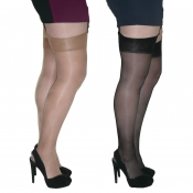 essexee legs glossy stockings large and xxl