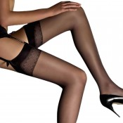 Silky soft classic stockings. Choice of colours. T (One Size) and XT for heights to 6ft1""