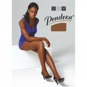 Skin tone tights with mildly dark tone.