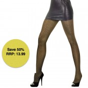 trasparenze sitar leopard print tights