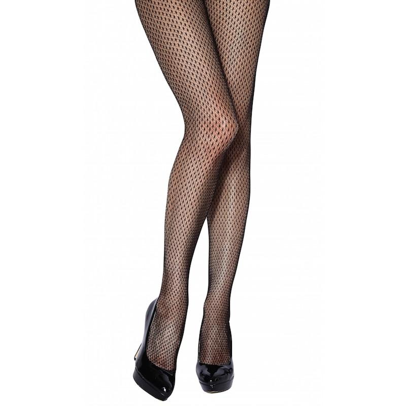 aaa2598df7b Details about Charnos Honeycomb Net Tights. Black Fishnet. 90% Nylon 10%  Elastane