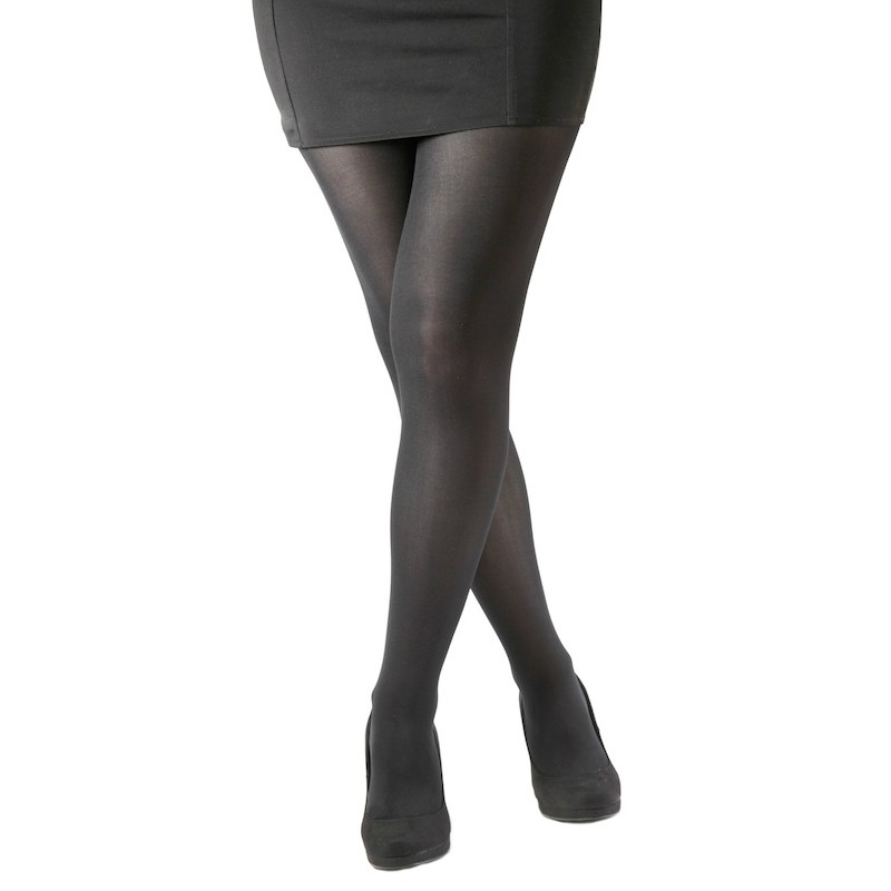 The Stocking Fox Women's Denier Opaque Stretch Tight are nice. I never once had them slip or roll down. The fit is quite fitted but not uncomfortably so or like you'd get with compression types of leggings/5(48).