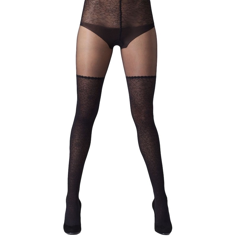 gipsy lace leg and body mock stocking tights