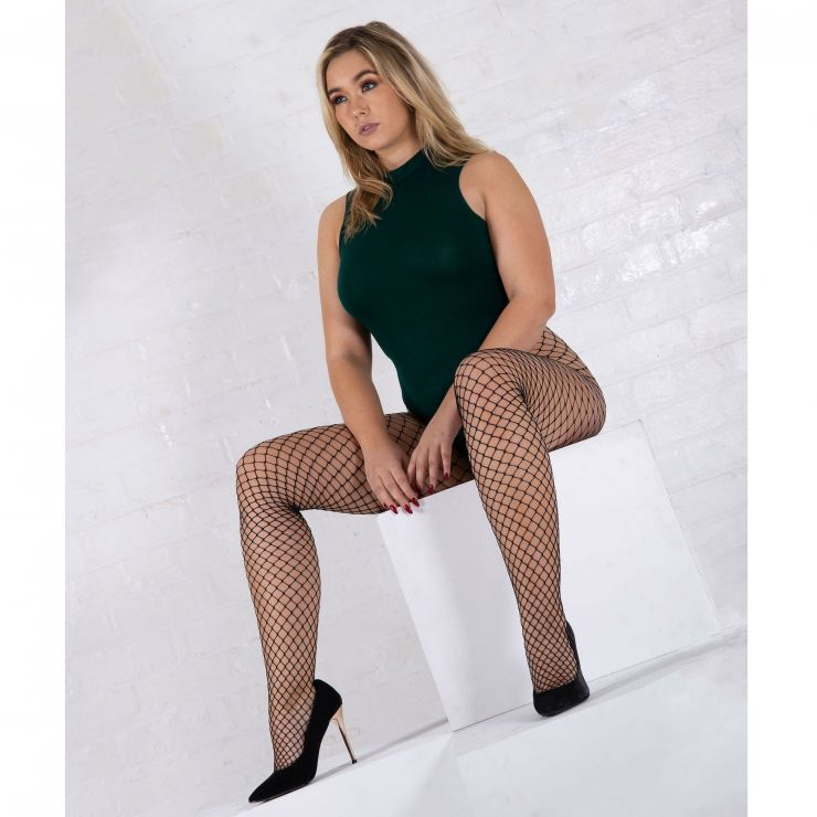 jonathan aston midi-net fishnet tights