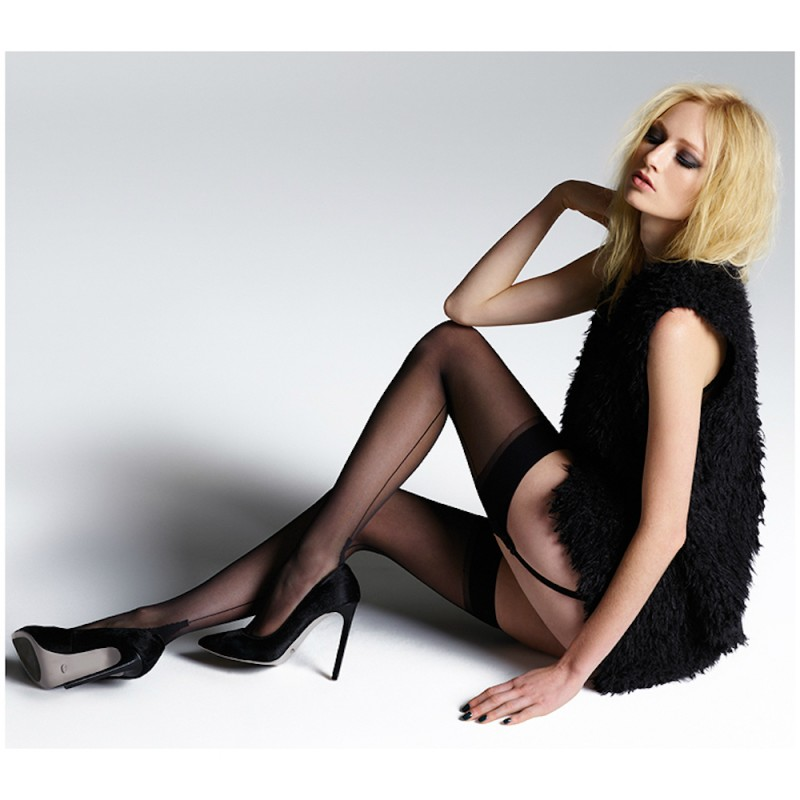 jonathan aston seam heel stockings