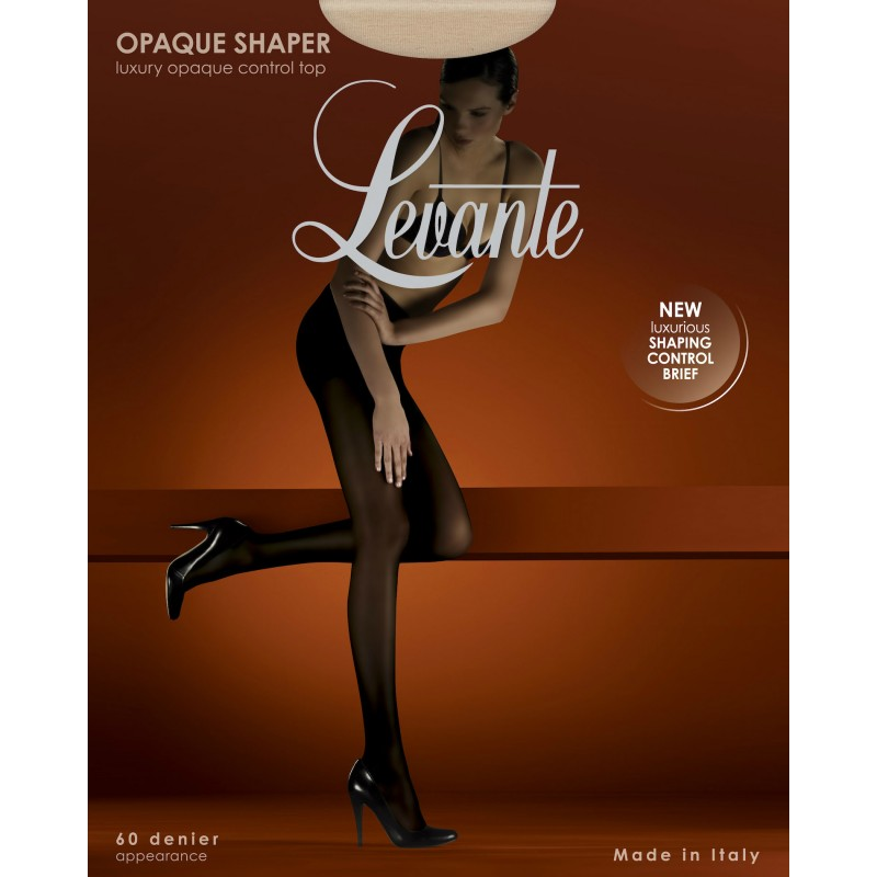 levante luxury opaque shaper tights