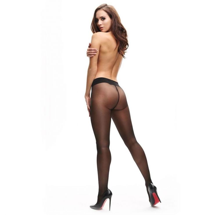 miss o classic exclusive sheer tights black