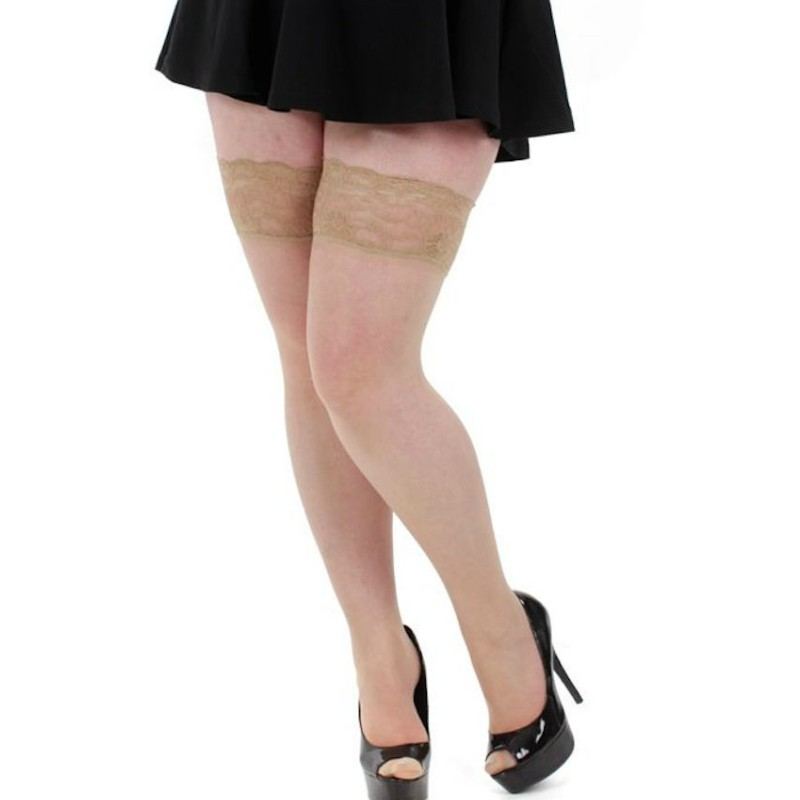 pamela mann plus size hold ups natural