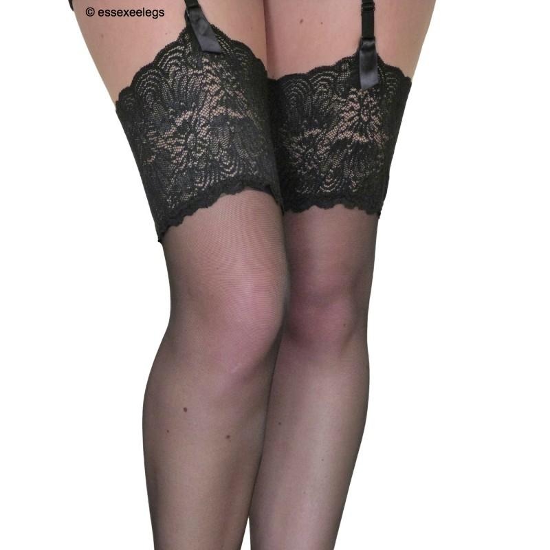 Trasparenze Eleonora 30 Denier Lace Top Garter Stockings