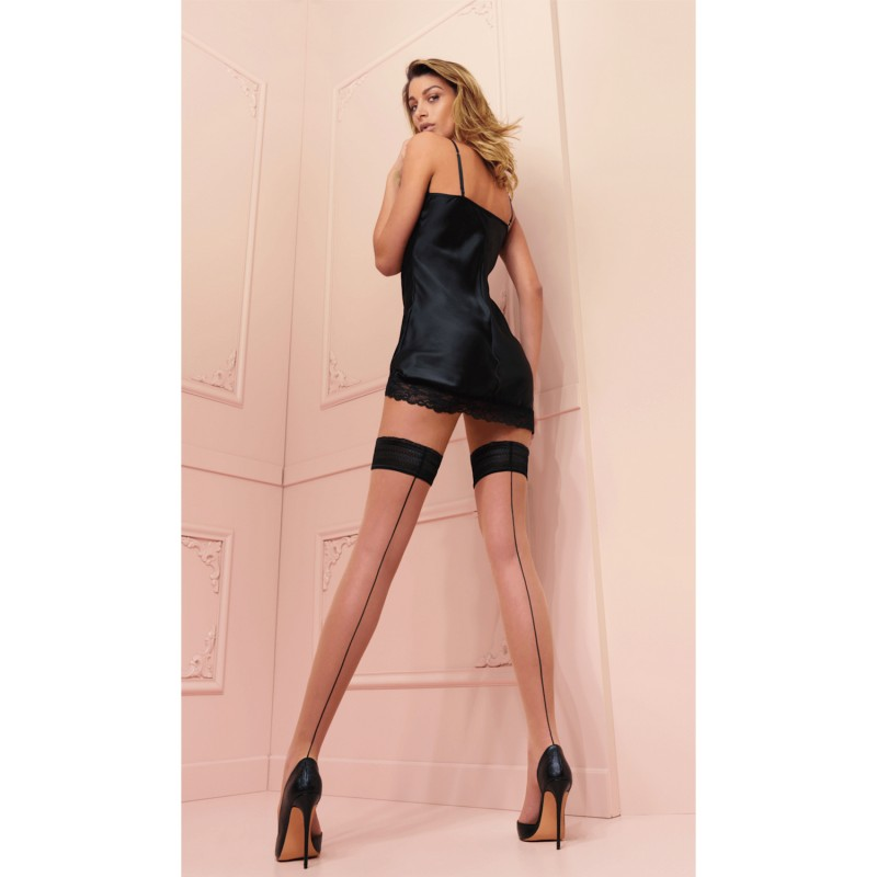 trasparenze jessy hold ups cosmetic-black
