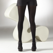 gipsy honeycomb texture tights black