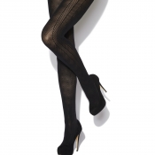 charnos chevron opaque tights