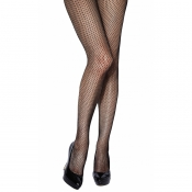 charnos honeycomb black net tights