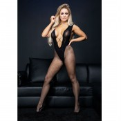 essexee legs EL218 fishnet tights black