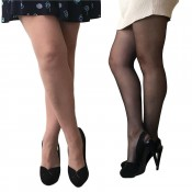 essexee legs plus size 20 denier ladder resist tights 3 pair pack