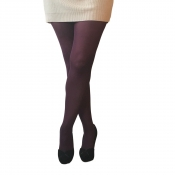 essexee legs berry 40 denier opaque tights plus size