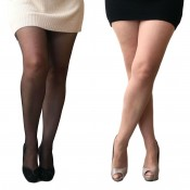 essexee legs plus size open gusset tights