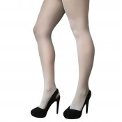 jonathan aston simply colour 40 denier opaque tights silver