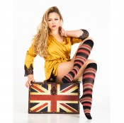 trasparenze altman striped knee high socks