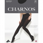 charnos 60 denier seamless opaque tights
