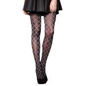 charnos baroque patterned tights