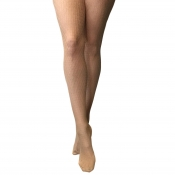 charnos geo net fishnet tights natural