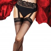 charnos boudoir all in one suspender stockings