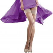 Luxurious sheer 15 Dener Hold Ups. Black, Barely Black, Natural Tan and Nude