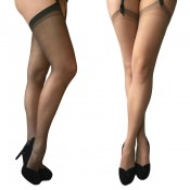 essexee legs 15 denier suspender stockings 3 pair pack