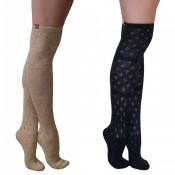 essexee legs pelerine over knee socks