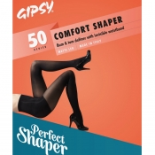 gipsy 50 denier comfort shaper tights