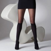 Cute knee high socks that are tights!