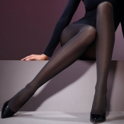 levante 60 denier satin smooth opaque tights