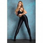 miss o t800 wet look tights 120d