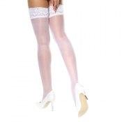 miss o silky hold up stockings white