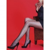 X-Large Black Fishnet Tights