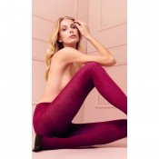 70% merino wool warm tights in nero or rich warm red.