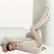 trasparenze wilder merino wool tights ivory